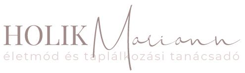 Holik Mariann életmód és táplálkozási tanácsadó